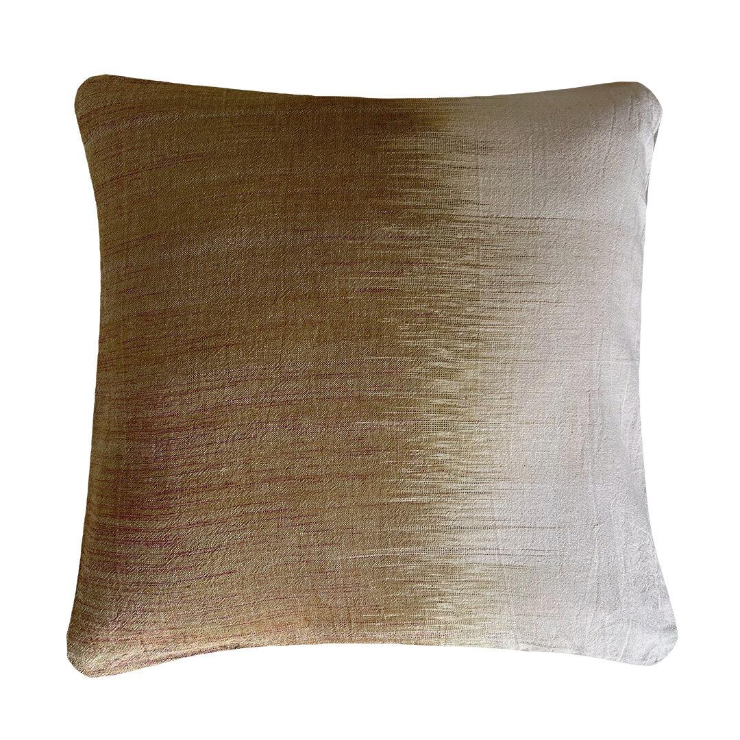 Cushion, pillow, kussen 100% cotton Betul 94 d.maize 50x50 cm